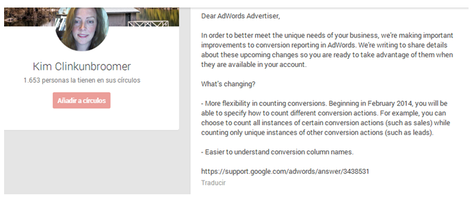 Counting Conversions Google Adwords